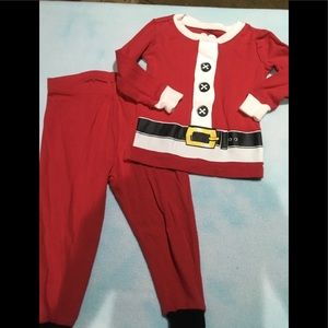 Boys holiday pajamas size 12-18 months